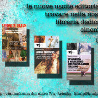 NOVITÀ EDITORIALI SUL CINEMA AL KNULP (APRILE 2021)